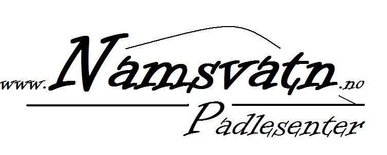 Logo - Namsvatn Padlesenter ny